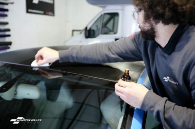 Audi S5 Matte Riviera Blue wrap & Ceramic PRO