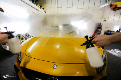 Mercedes GTS AMG Clear Paint Protection wrap