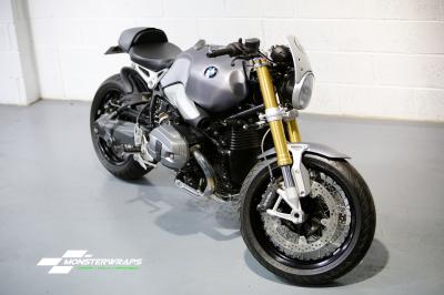 BMW R Nine T carbon fibre wrap