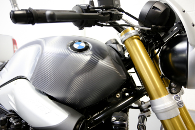 BMW R Nine T carbon fibre wrap