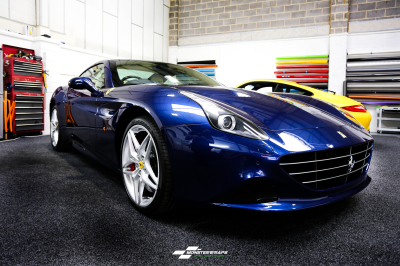 Ferrari California T paint protection film