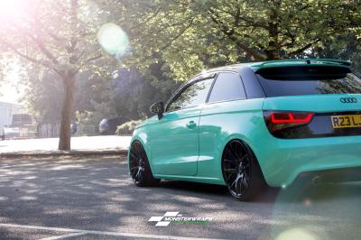 Audi A1 Gloss Tiffany Blue wrap