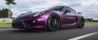 Matte Purple Black wrap