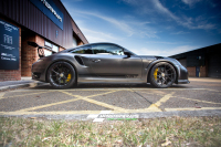 Porsche 911 Turbo wrap car van truck wrap southampton