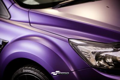 Ford Focus RS Satin Purple wrap car van truck wrap southampton hampshire
