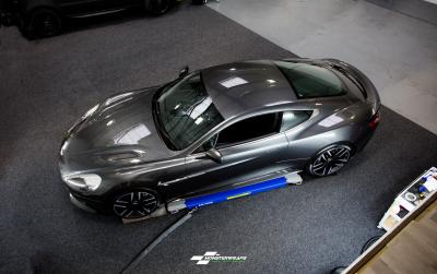 Aston Martin Vanquish Paint Protection clear wrap car van truck wrap southampton hampshire