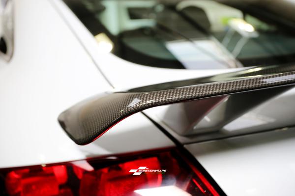Audi TTRS Gloss Carbon wrap