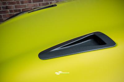 Nissan GTR Satin Bitter Yellow wrap car van truck wrap southampton