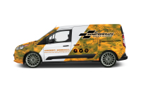 Level 4 vehicle branding/signwriting