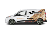 Level 3 vehicle branding/signwriting