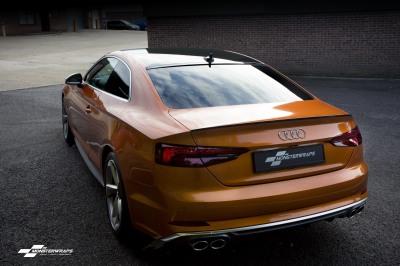Audi S5 - 3M Gloss Liquid Copper wrap southampton hampshire