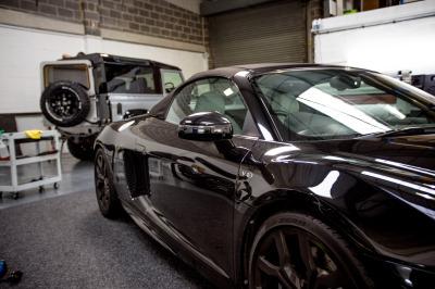 Audi R8 V10 Spyder wrap