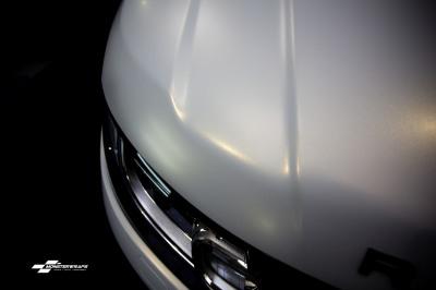 Range Rover Sport Satin Frozen Vanilla wrap Southampton Hampshire