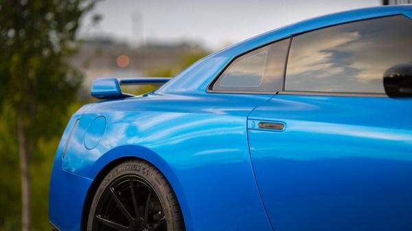 3M Gloss Blue Fire wrap
