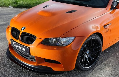 3M Gloss burnt orange car wrap colour