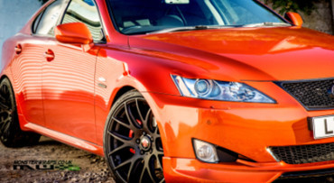 3M Gloss fiery orange car wrap colour