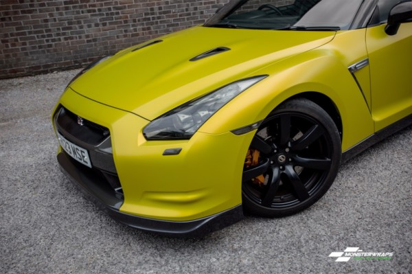 3M Satin bitter yellow wrap