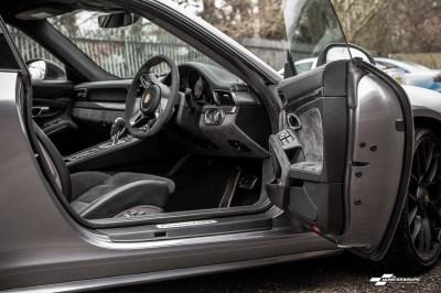 Porsche 911 GTS 3M Gloss Anthracite Wrap