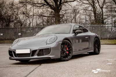 Porsche 911 GTS 3M Gloss Anthracite Wrap