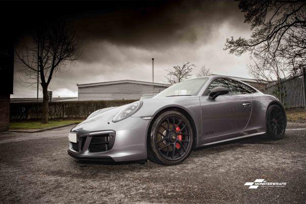 Porsche 911 GTS 3M Anthracite wrap