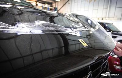 Ferrari F12 Full body Paint Protection Film wrap