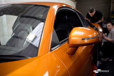 Audi R8 Gloss liquid copper wrap