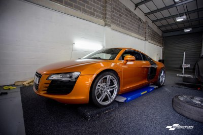 Audi R8 Gloss liquid copper wrap
