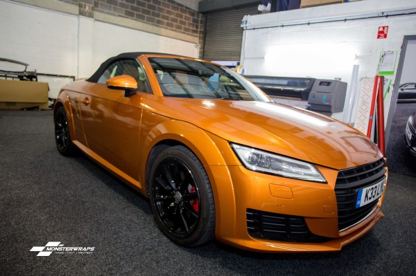 Audi TT mk3 Gloss liquid copper wrap