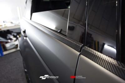 Range Rover Sport 3M Matte Black wrap