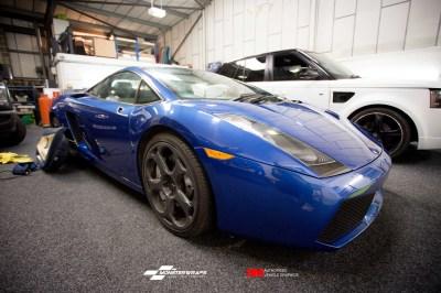 Lamborghini Gallardo wrap