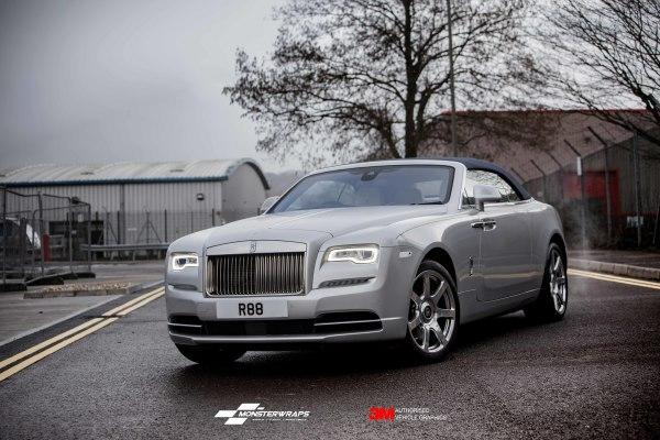 Rolls Royce Dawn full wrap