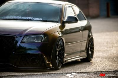 Audi A3 3M Gloss deep space wrap