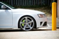 Audi RS4 Calipers painted Porsche Acid Green monsterwraps southampton