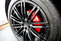 Porsche Caliper painting Gloss Red monsterwraps southampton