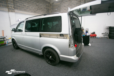 VW T5 two tone half and half wrap