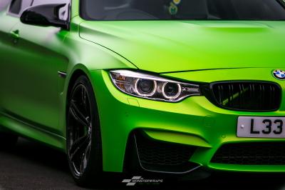 BMW M4 F82 Matte Green Wasabi wrap
