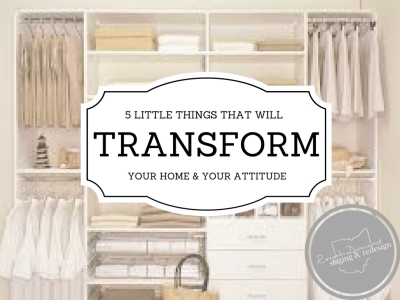 5 Little Things That Will Transform Your Home or Office