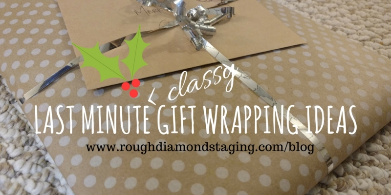 Last-Minute (Classy) Gift Wrapping Ideas!