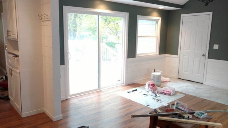 Rough Diamond Staging & Redesign implementing shiplap in a remodel
