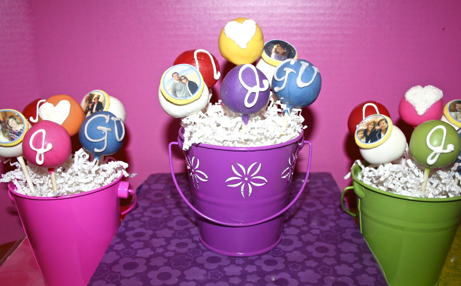 cake pop centerpiece