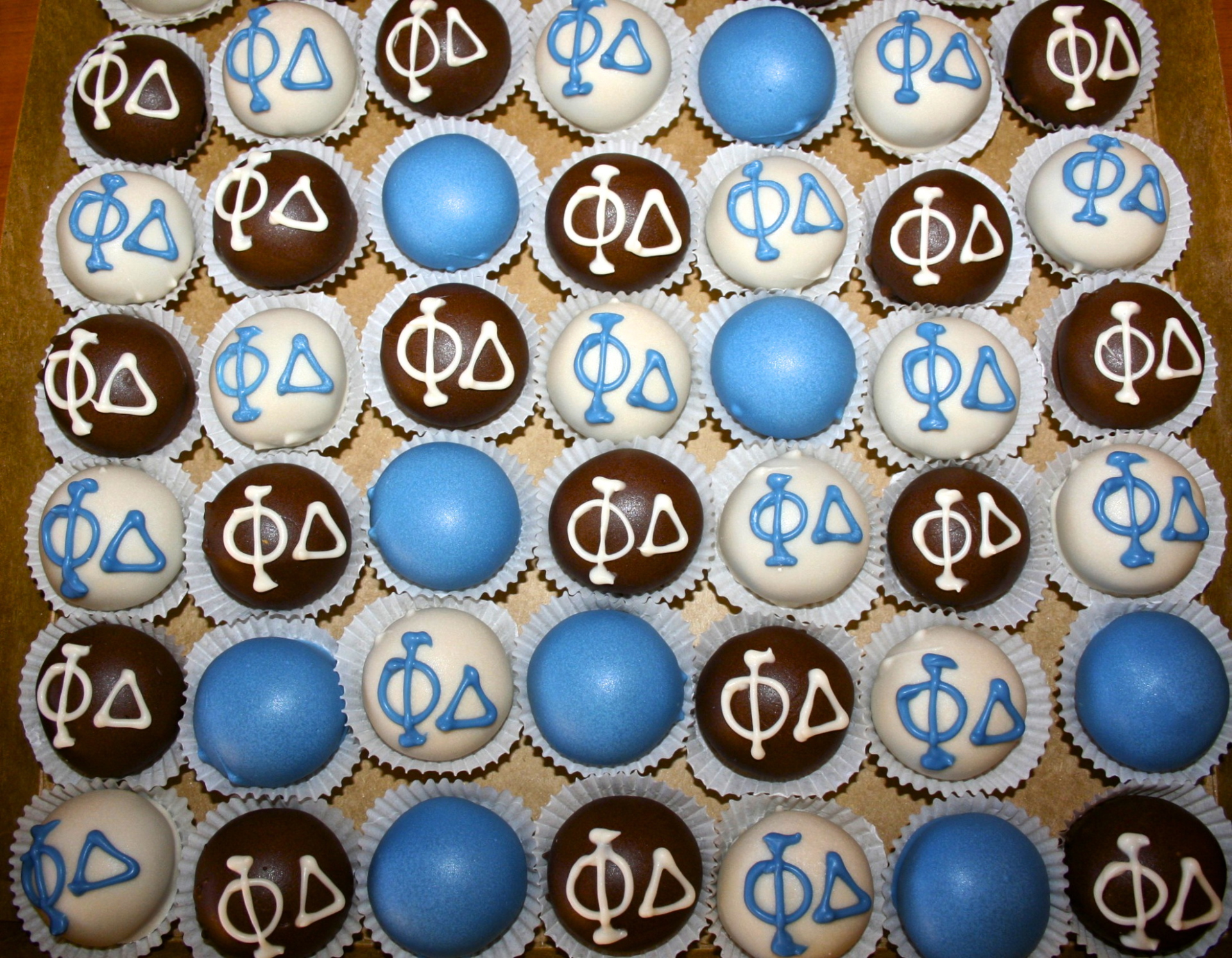 greek life cake pops