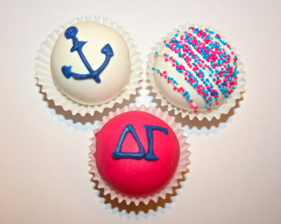 sorority cake pops