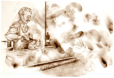 HALLECK BAR SMOKE AND SPIRITS