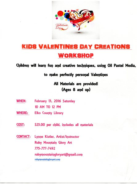 Kids Valentines Day Creation Class