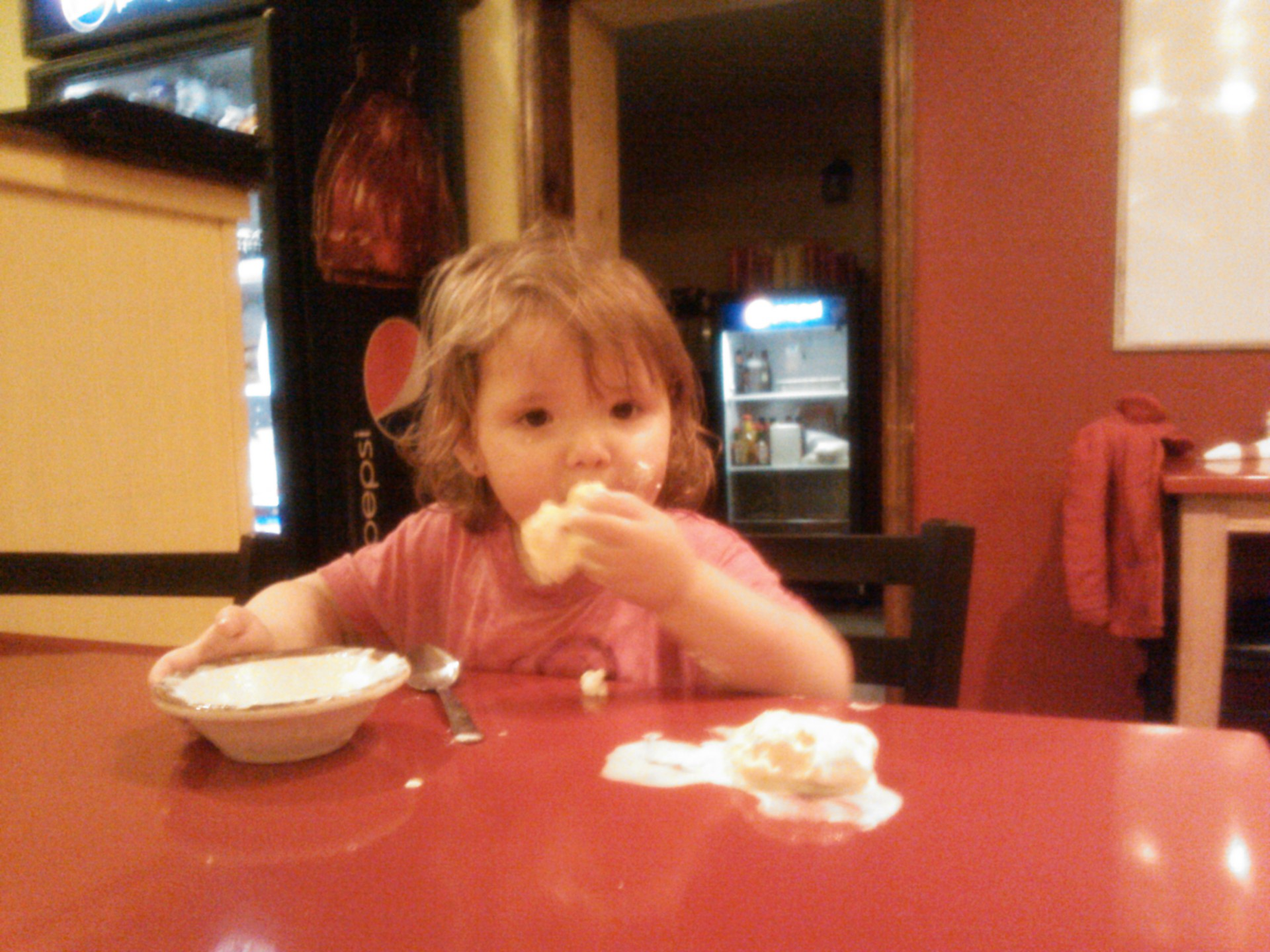 Eating pie