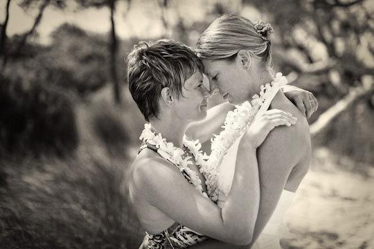 Lesbian Wedding Maui