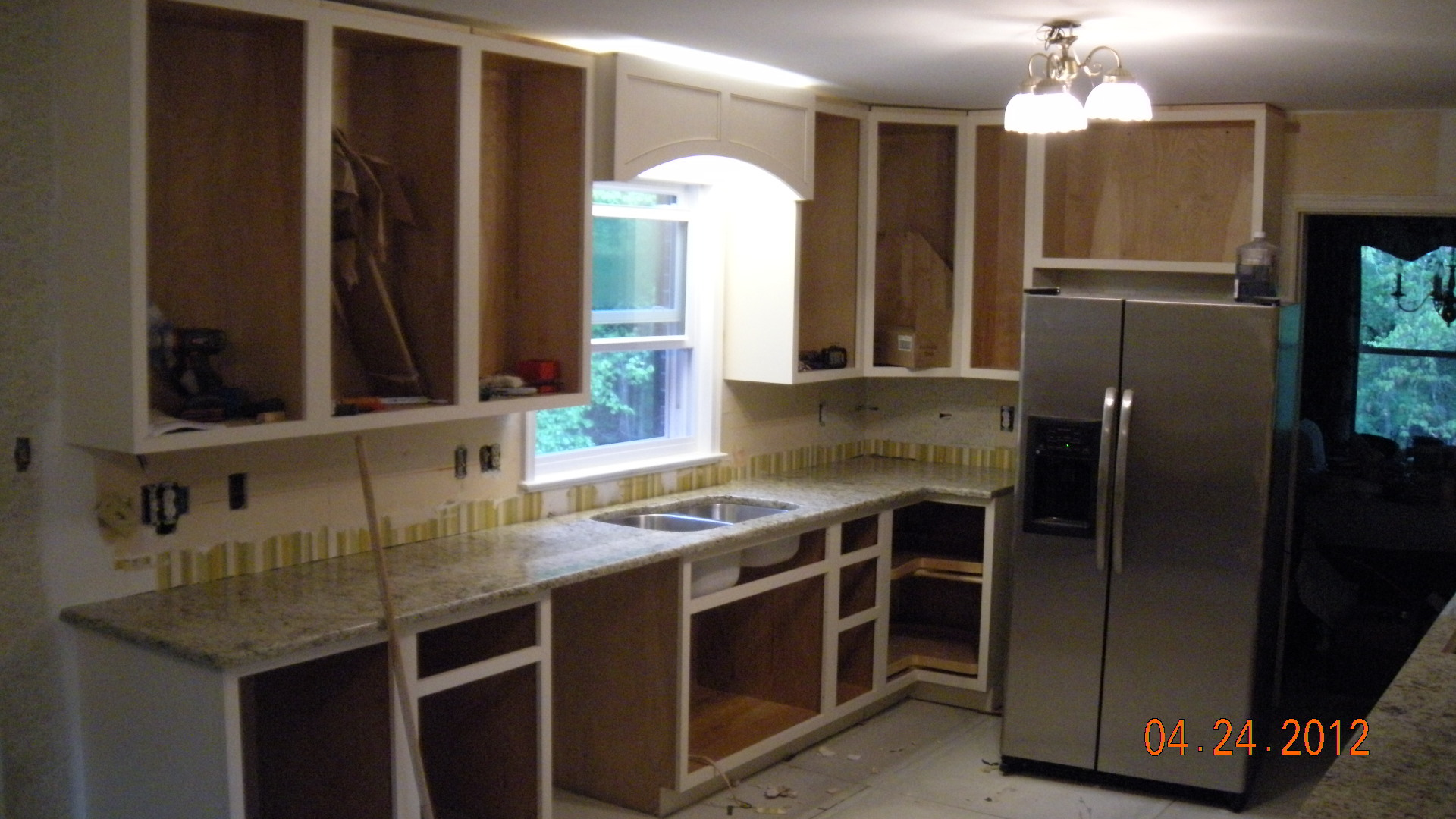 Gkitchen during building phase