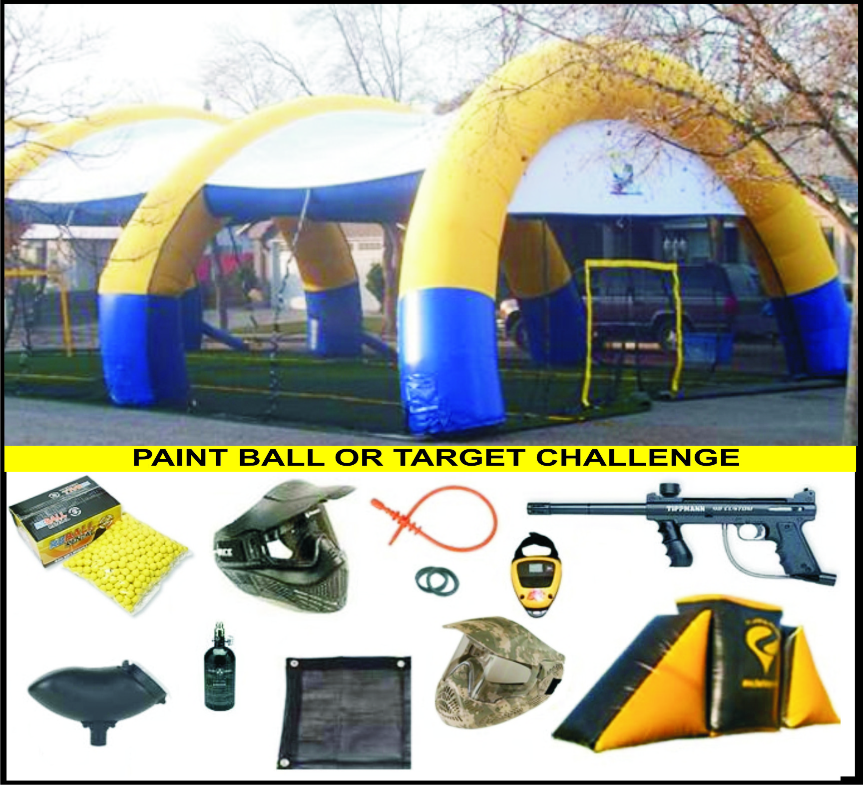 Paint Ball / Target Challenge