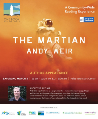 """The Martian"" Author Appearance"