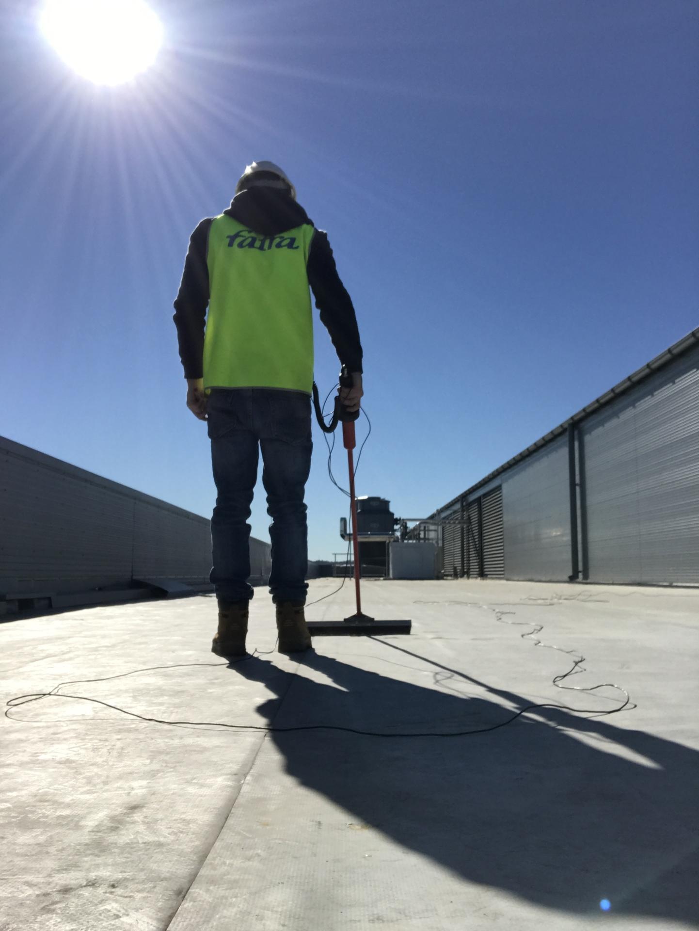 Fatra PVC Membrane Waterproofing Sydney Australia Quality Management Inspection Survey